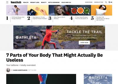 Women's Health Magazine: Oct. 19, 2016