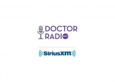 Regular Appearances on Sirius XM Doctor Radio